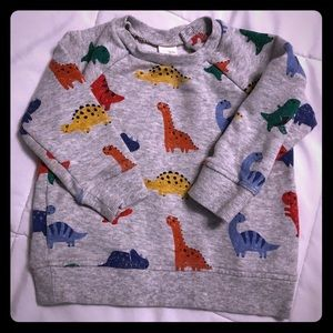 Baby Boy/Toddler Dinosaur Sweater S 12-18M